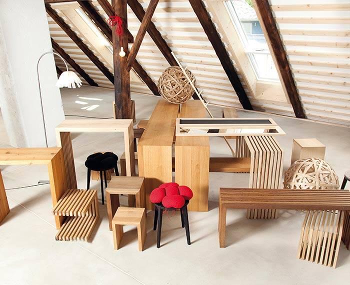 Möbel im Heimat-Werk