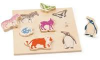 SELECTA belly button Zoopuzzle - Kinderpuzzle ab 1 Jahr+