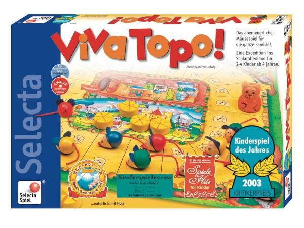 SELECTA Spiel- Viva-Topo- das preisgekürte Gesellschaftsspiel