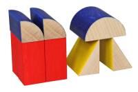SINA Basic Spiel Bauhausfarben