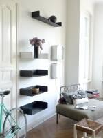 Poggibonsi Bücherregal Atelier Haussmann - Buchablage für Puristen