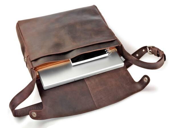 dothebag raboison für Apple MacBook - Notebooktasche Leder