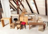 Die Holzbank von raumgestalt- Sitzbank aus Eichenlamellen 100 cm Eiche hell, geölt