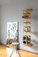 Schuhregal Steps von motherandson aus Stuttgart vierer schwarz