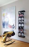 Schuhregal Steps von motherandson aus Stuttgart vierer silber