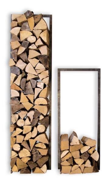 Kaminholzständer Woodtower von Raumgestalt