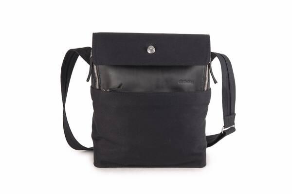 dothebag mailbag messenger up end S black-black