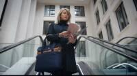 dothebag mailbag messenger up end S cognac-blue