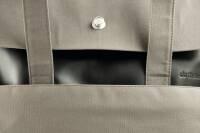 dothebag mailbag messenger up end S cognac-khaki