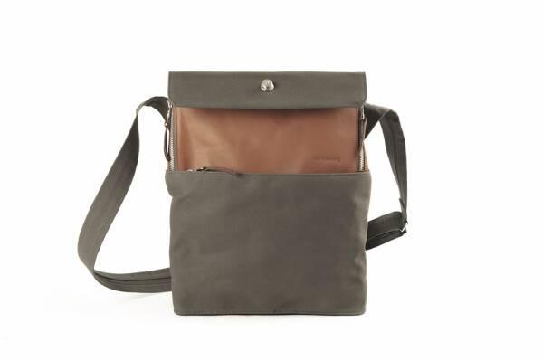 dothebag mailbag up end messenger up end M cognac-khaki