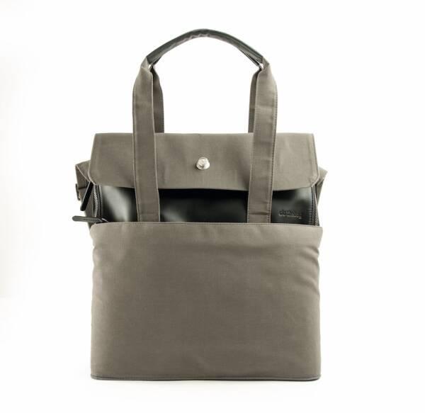 dothebag mailbag Shopping Shopper black-khaki