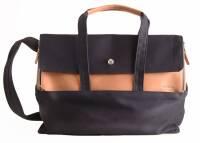 dothebag mailbag travel cognac-blue