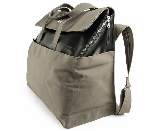 dothebag mailbag travel black-khaki